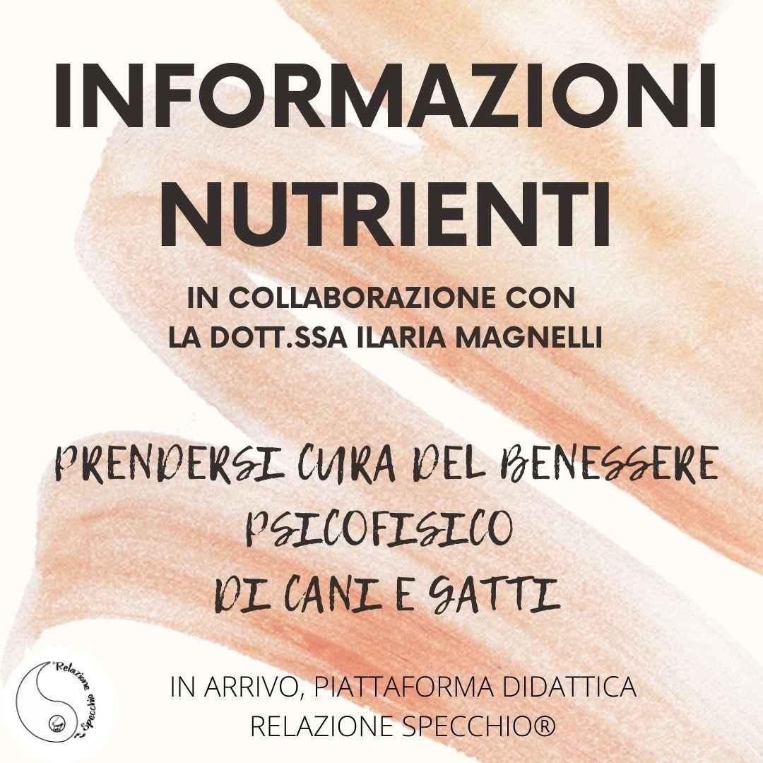 INFORMAZIONI NUTRIENTI